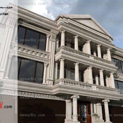 memarbiz.com طراحی نما ساختمان طراح حمید نبئی