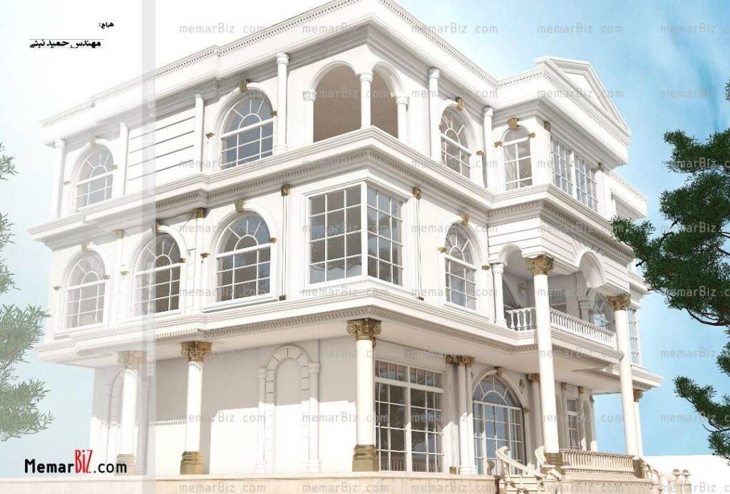 طراحی نما کلاسیک ،حمید نبئی
