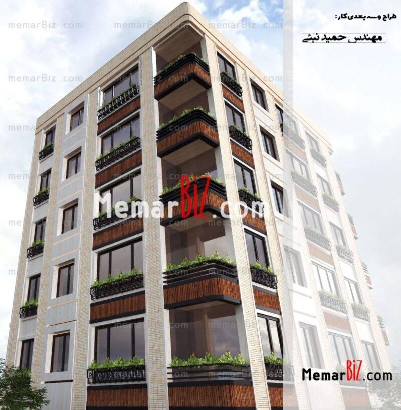 طراحی نما ،حمید نبئی
